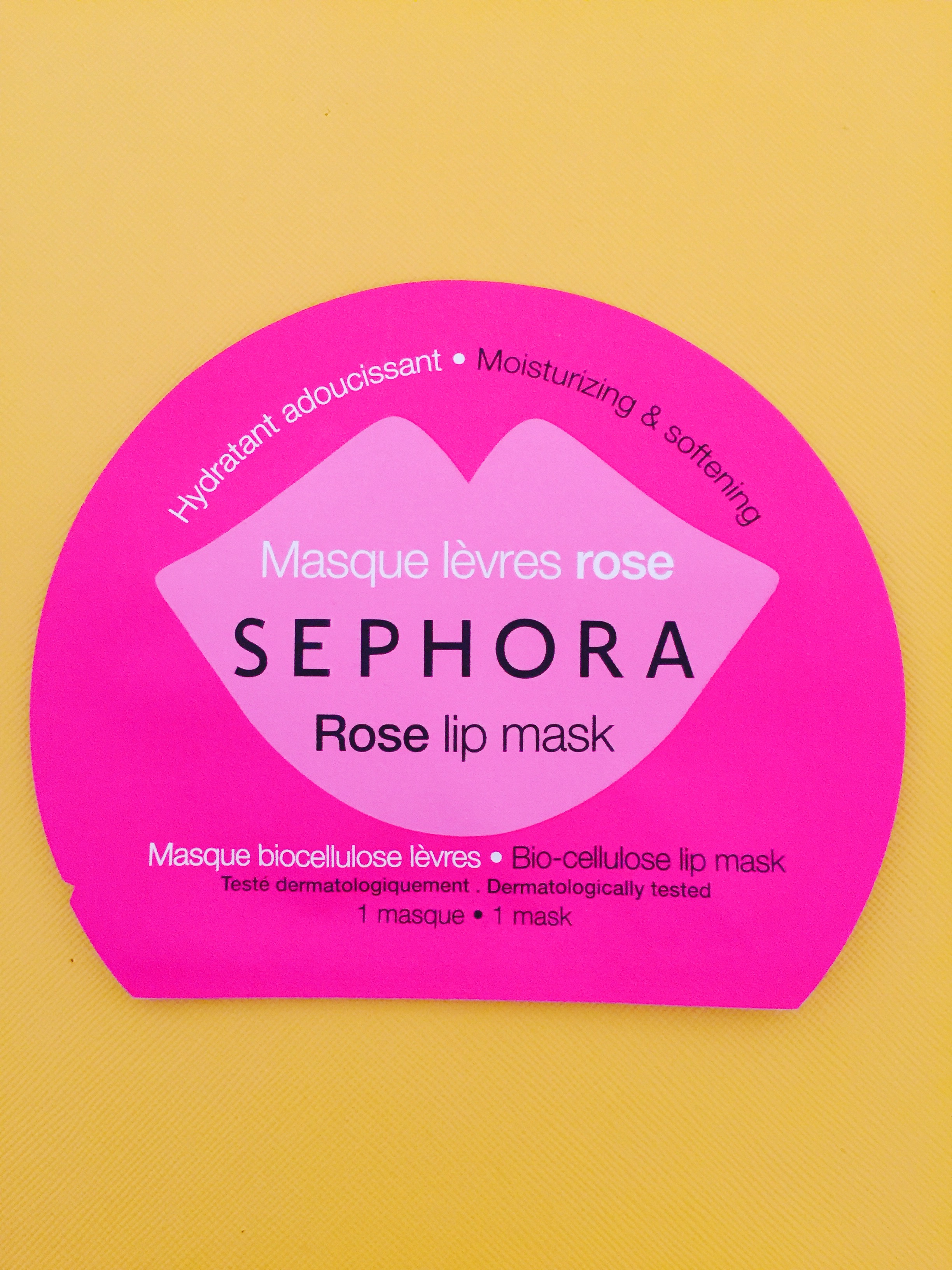 Sephora Rose Lip Mask