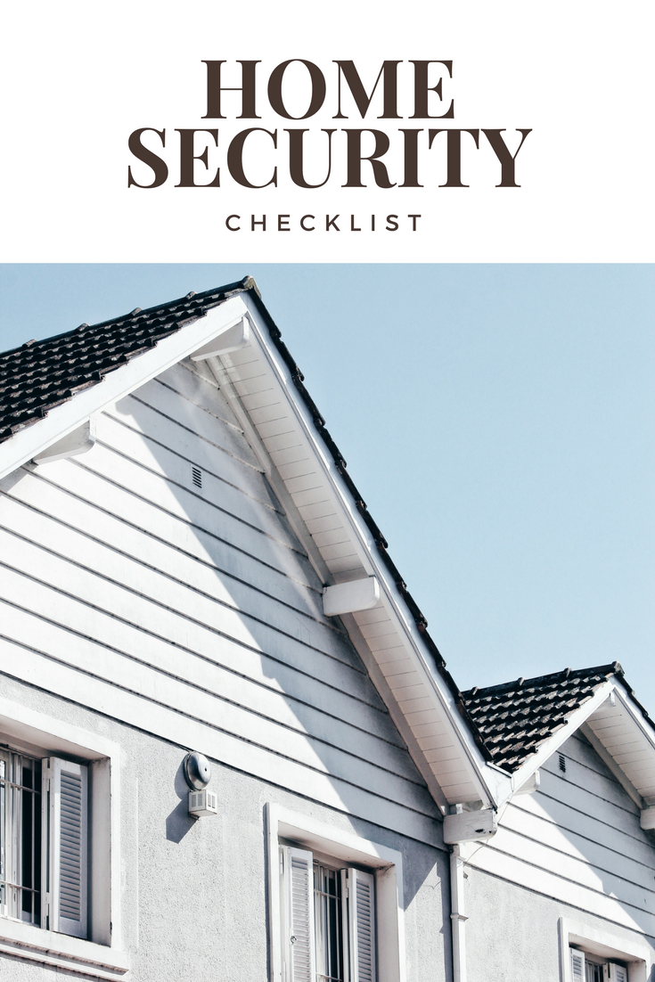 Home Security Checklist