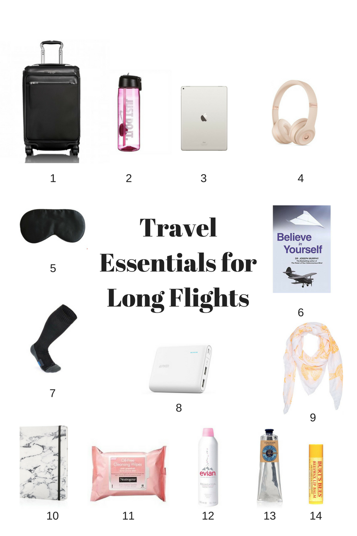 Travel Essentials for Long Flights