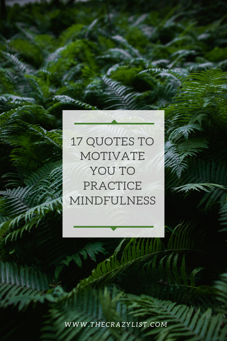 Mindfulness quotes De-stress Monday