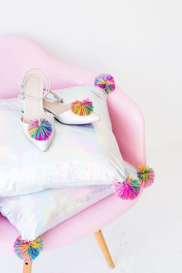 DIY Koosh Ball Pillows