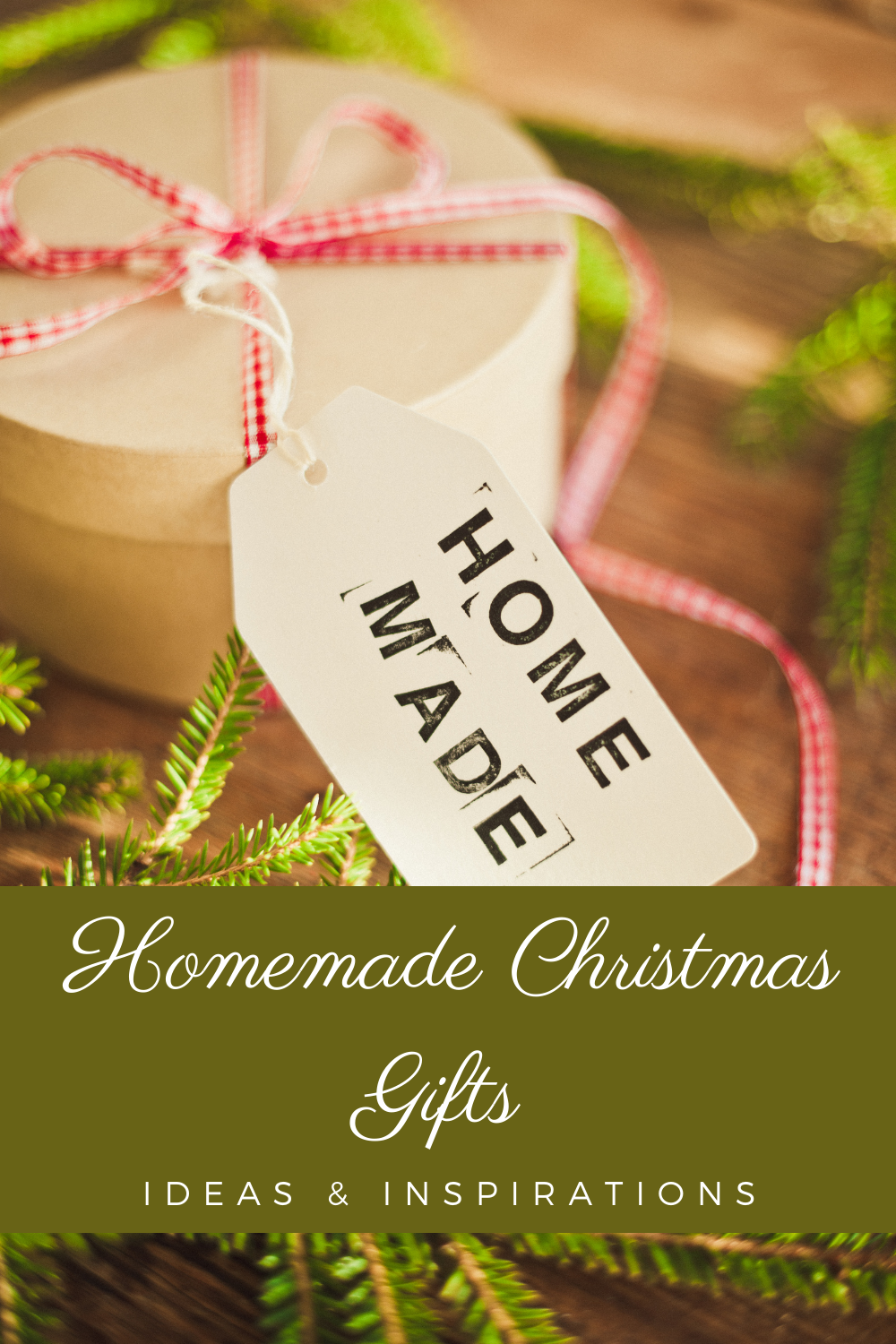 Easy Homemade Christmas Gifts Ideas